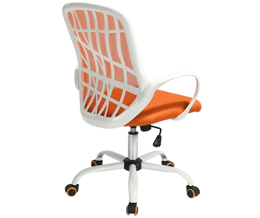 Scaun de birou Desert Orange and White