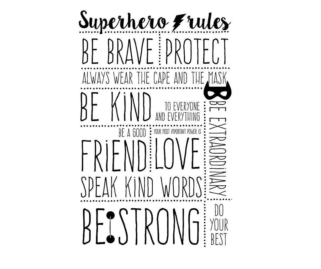 Superhero Rules Matrica