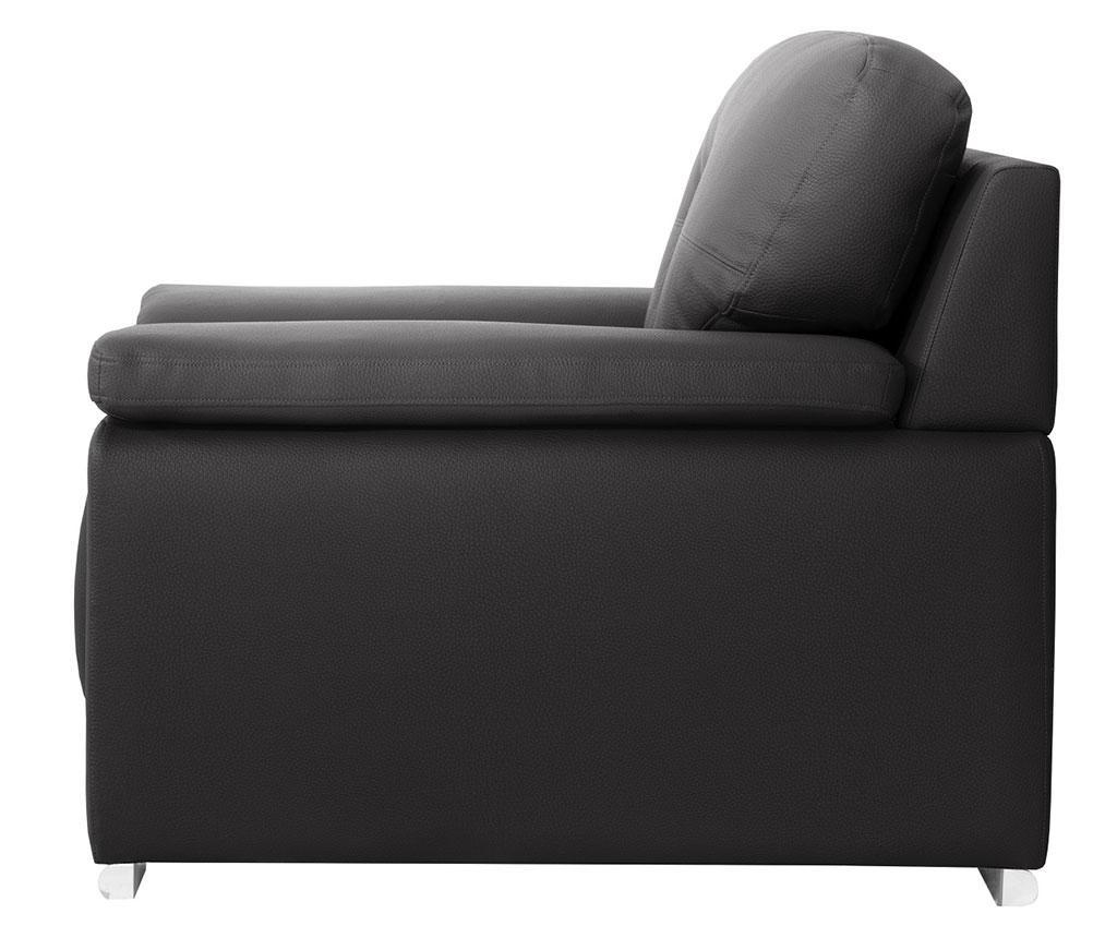 Canapea 3 locuri Babyface Anthracite
