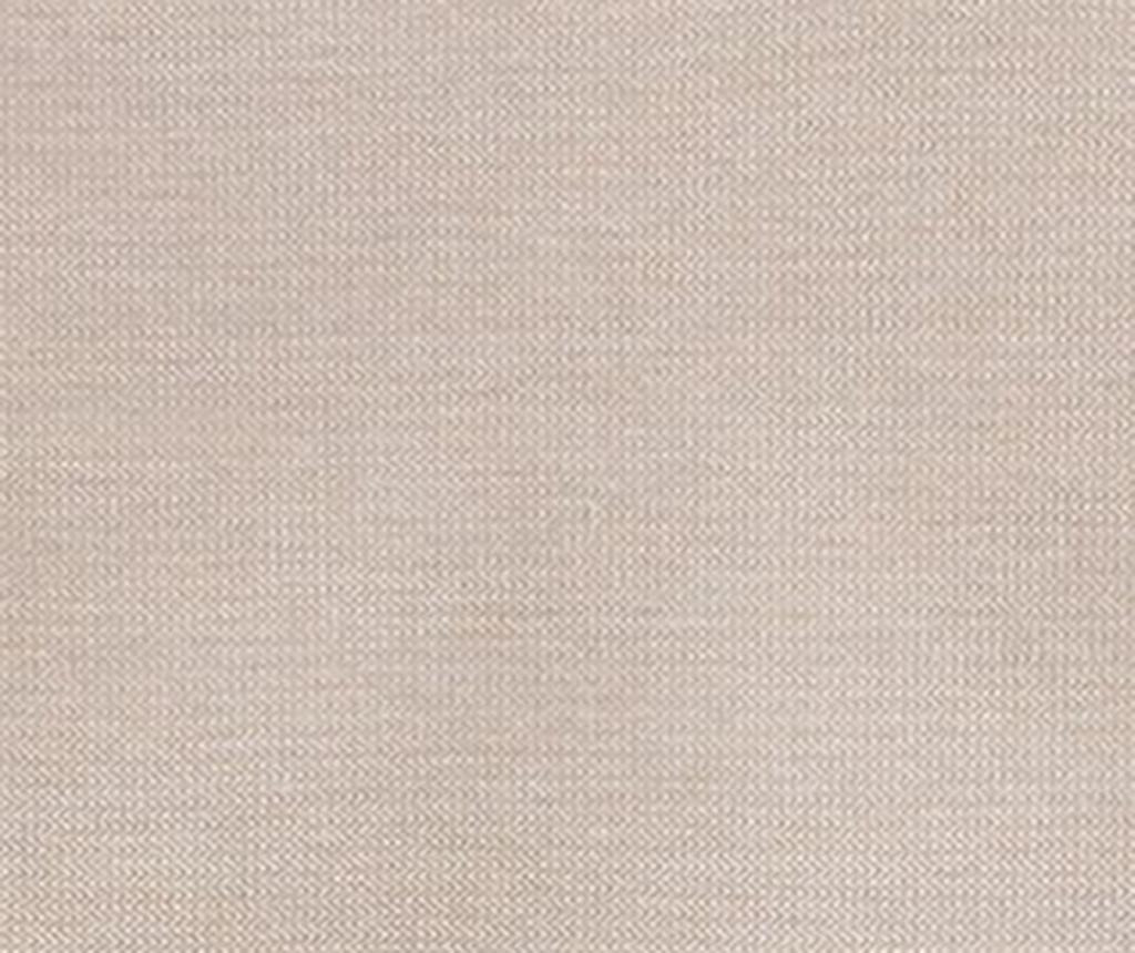 Podesiva navlaka za kauč Constanza Linen Bows 140x45x50 cm