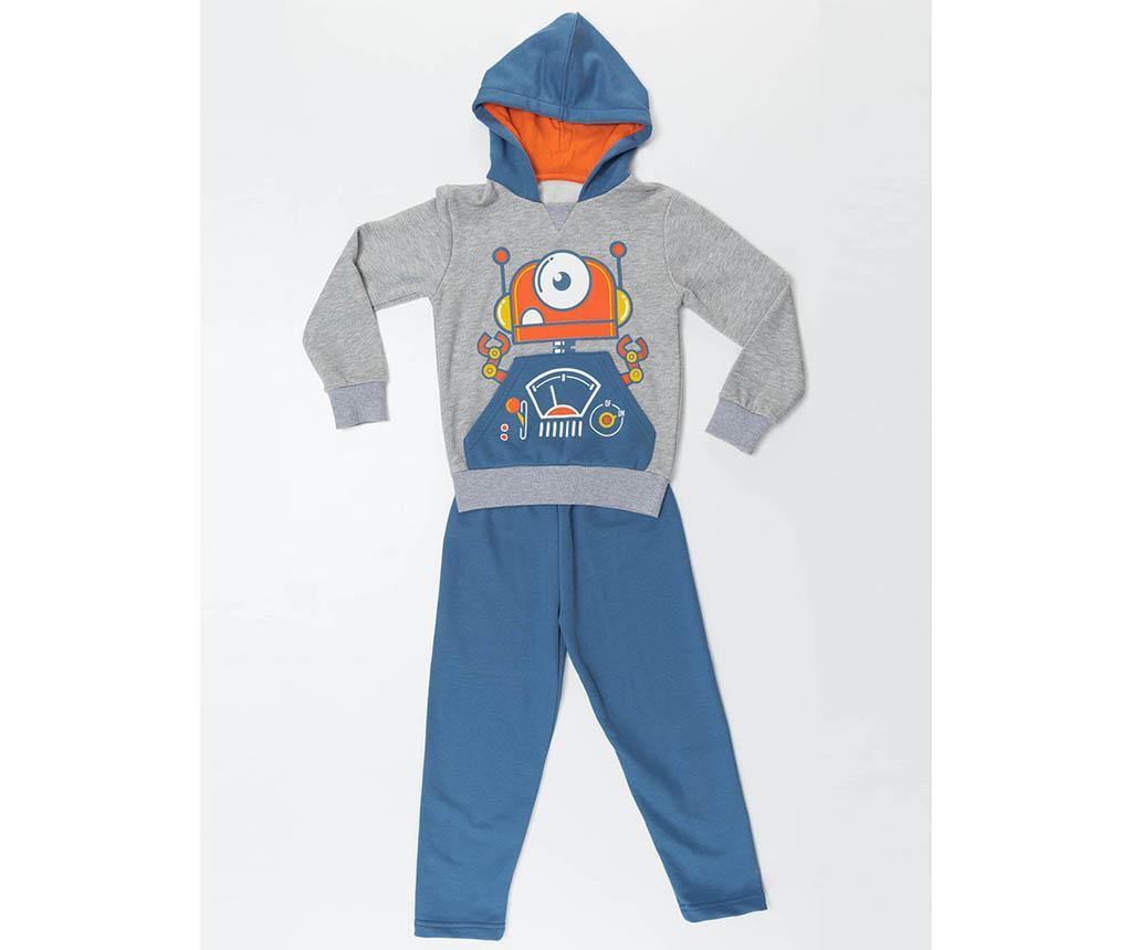 Set bluza si pantaloni copii Robotic 2 ani