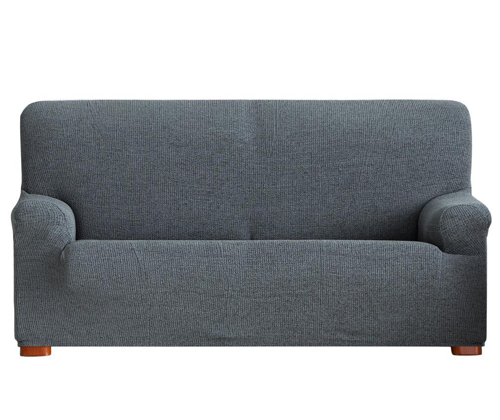 Husa elastica pentru canapea Dorian Grey 210-240 cm