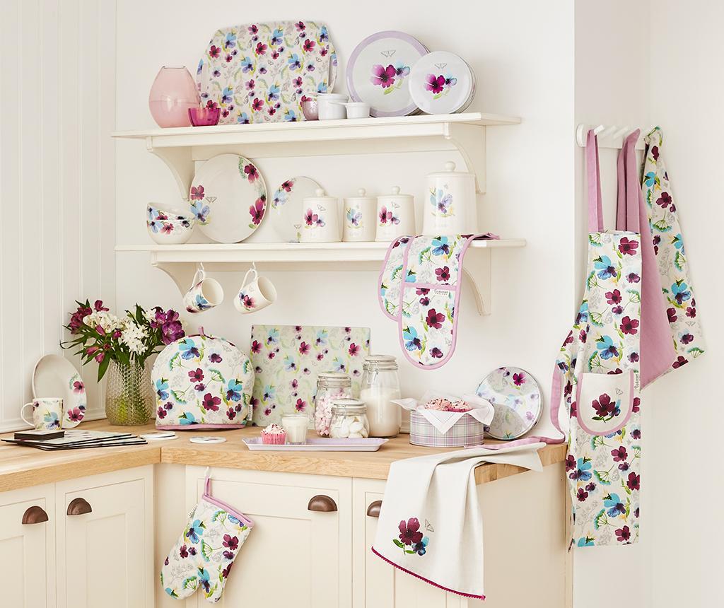 Chatsworth Floral Long Szervírozó tálca