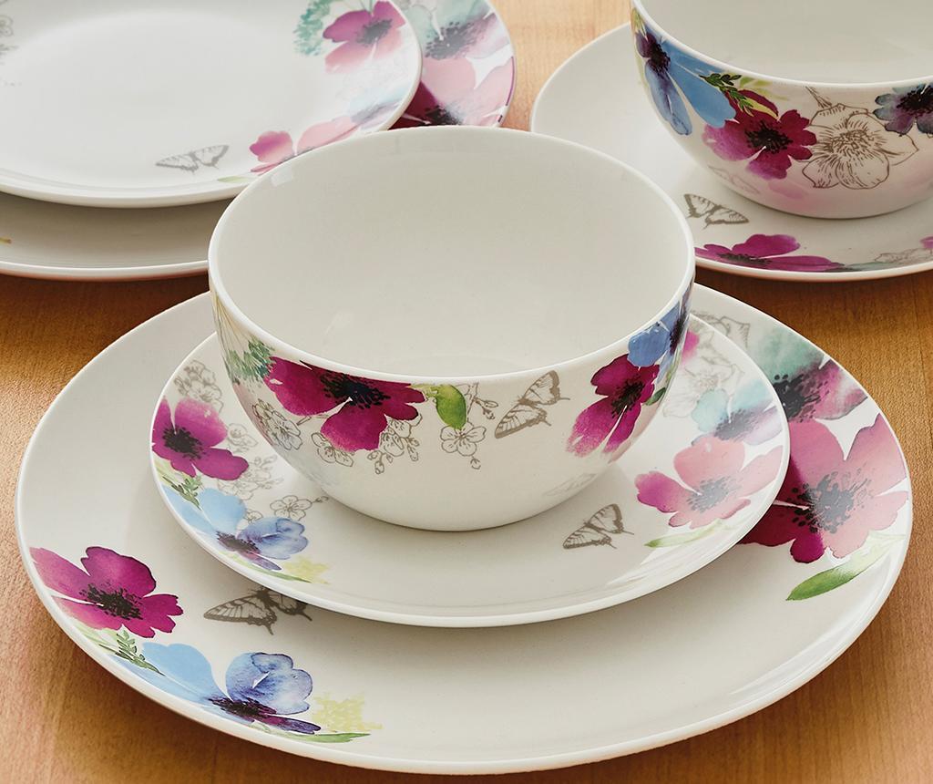 Chatsworth Floral 12 darabos Étkészlet