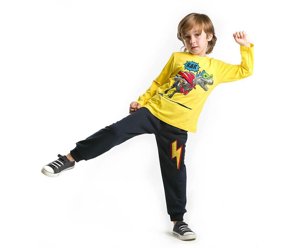 Set bluza si pantaloni Rar T-Rex 5 years