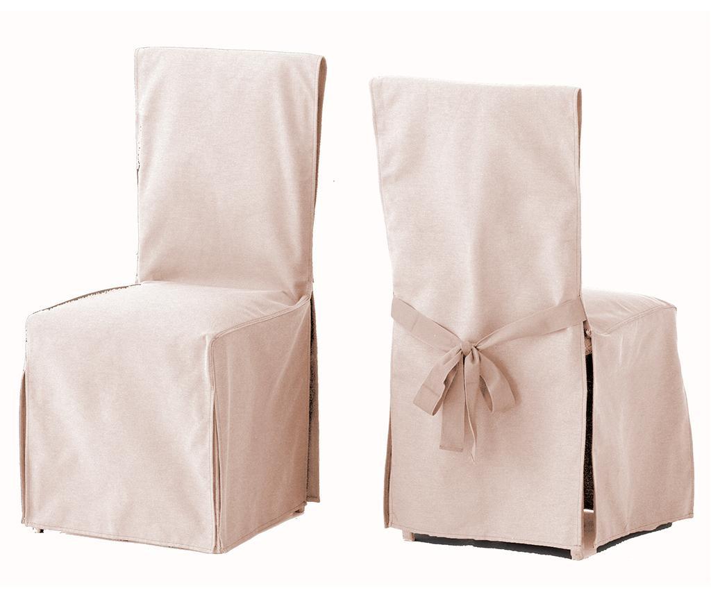 Set 2 navlake za stolicu Lona Liso Linen
