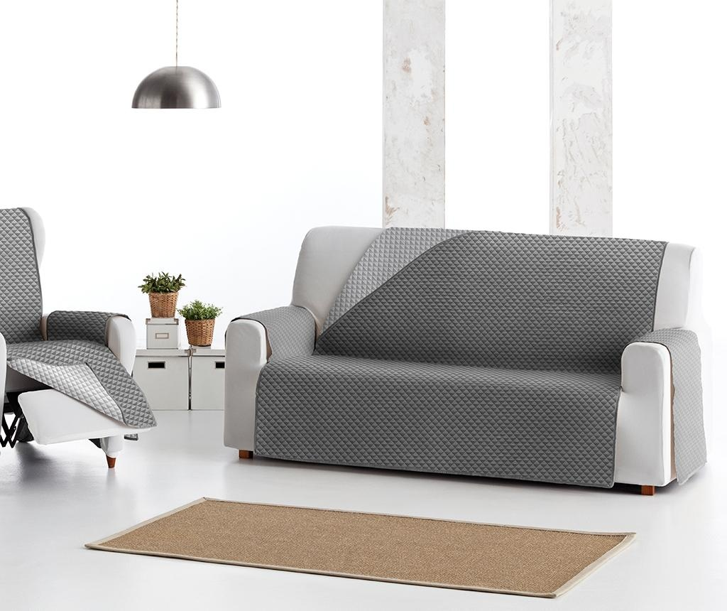 Oslo Reverse Dark & Light Grey Steppelt huzat kanapéra 150 cm