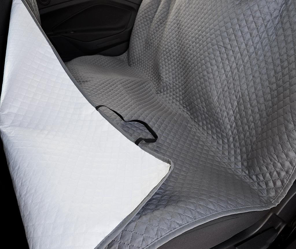 Oslo Grey Autós üléshuzat házikedvenceknek 130x150 cm