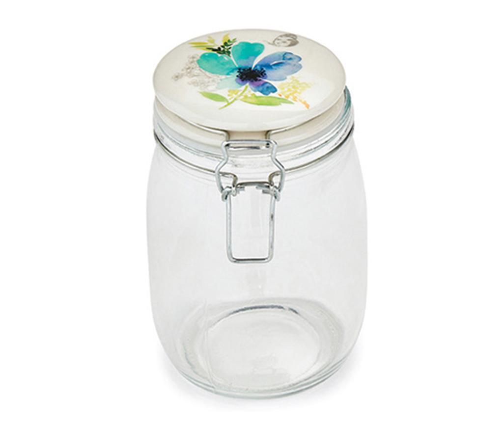 Chatsworth Floral Befőttesüveg fedővel 1 L