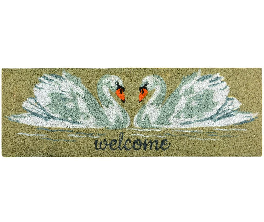 Covoras de intrare Swan 25x75 cm