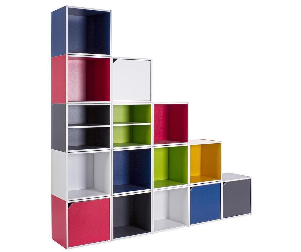 Modularni element Cube Dual Grey