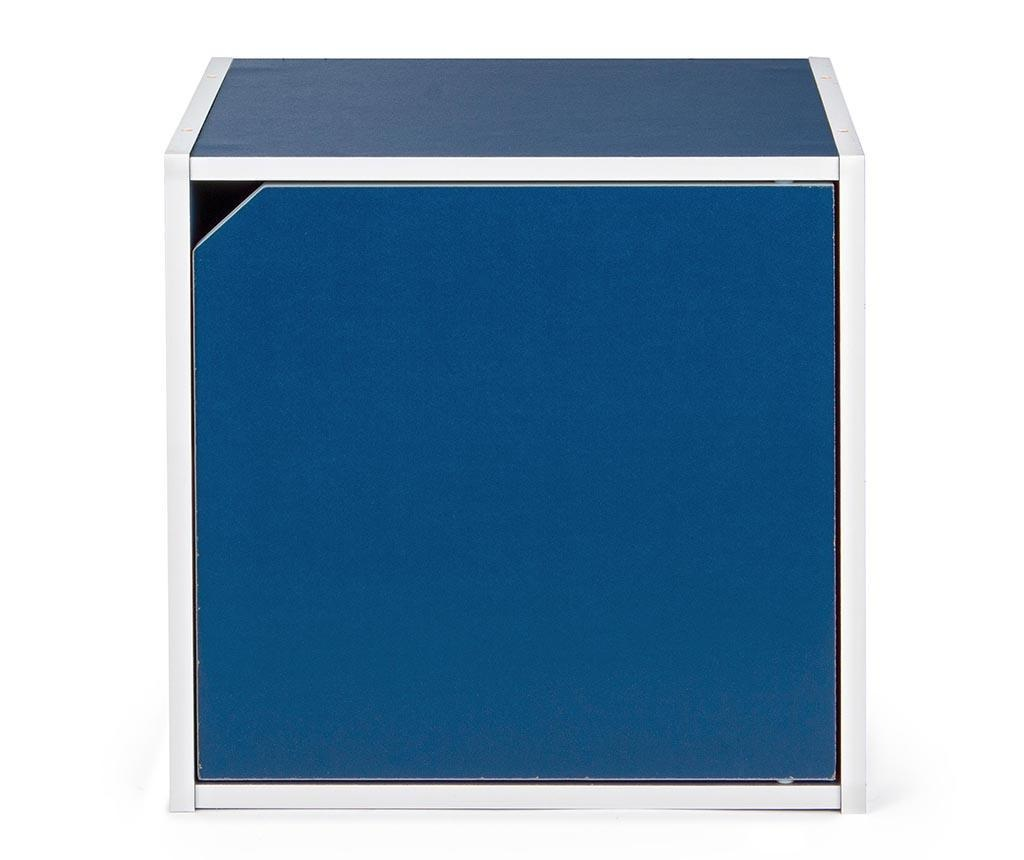 Modularni element Cube Door Blue