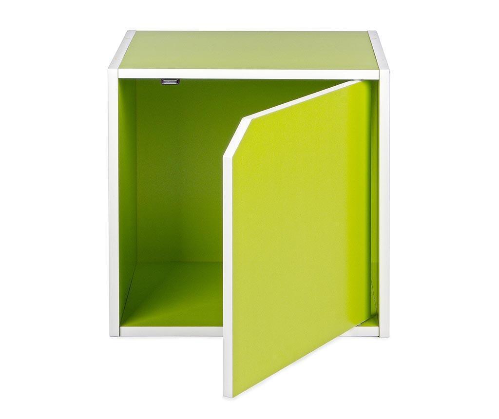 Modularni element Cube Door Green