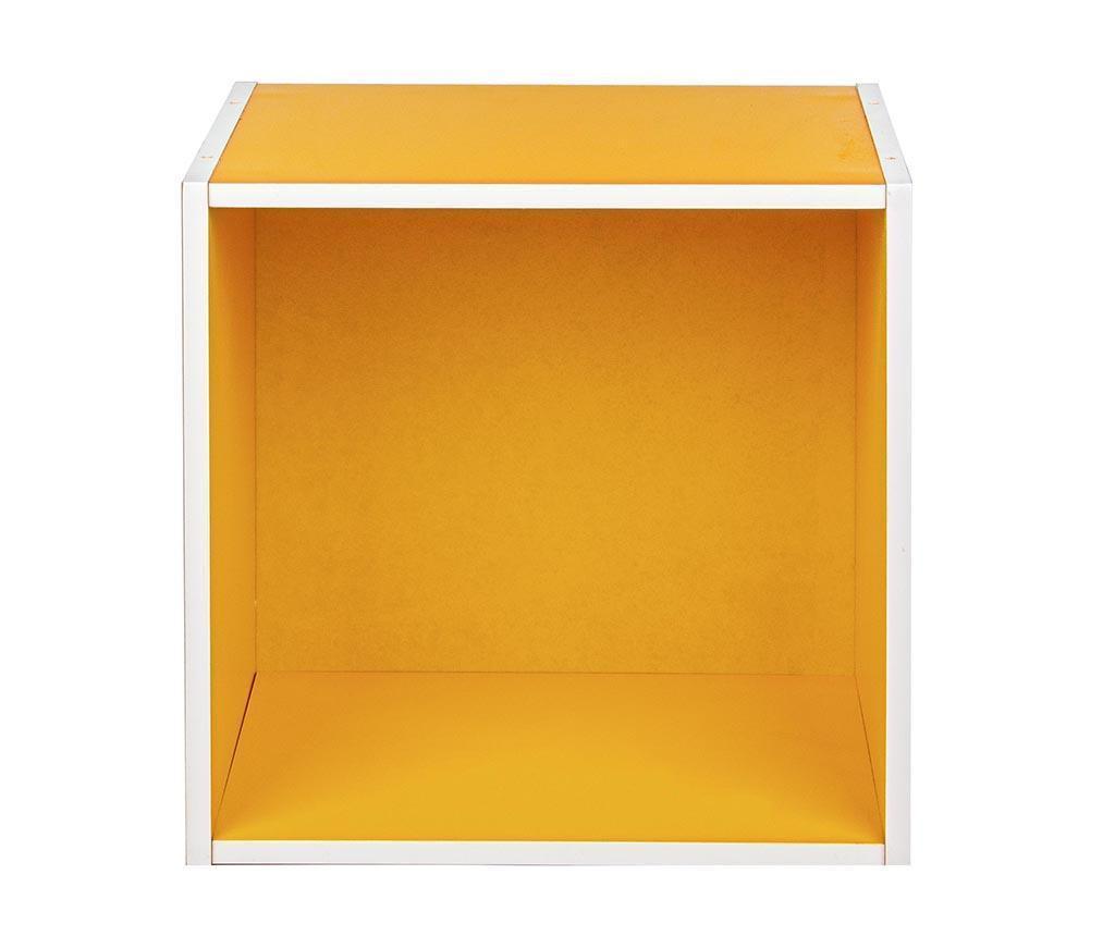 Modularna polica Cube Yellow