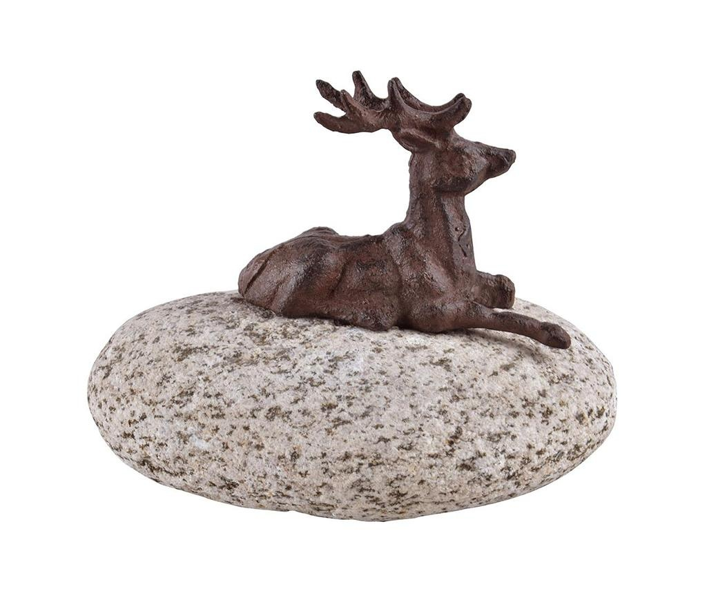 Dekorace Deer On Stone