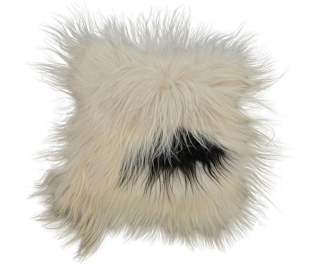 Sedežna blazina Icelandic Long Black White 37x37 cm