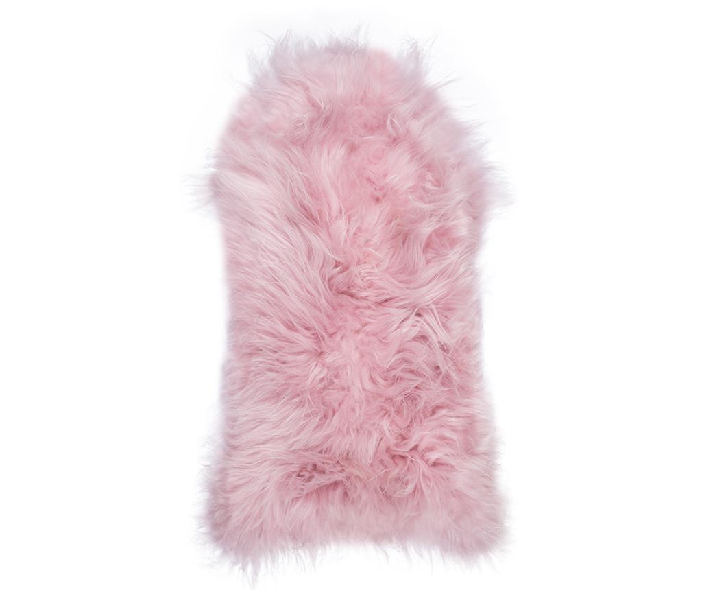 Piele de miel Icelandic Pale Pink 55x100 cm