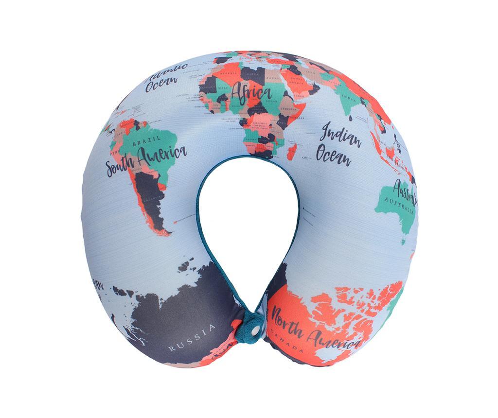 Potovalna blazina World Map