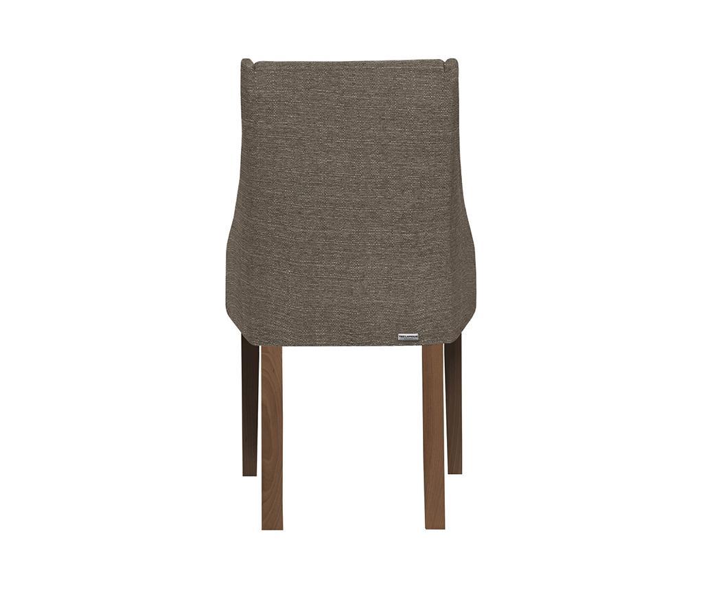 Set 4 scaune Absolu Brown Hazelnut