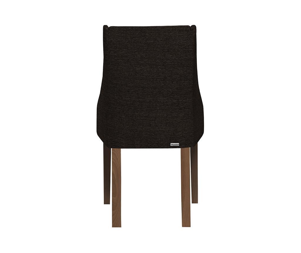 Set 4 scaune Absolu All Brown