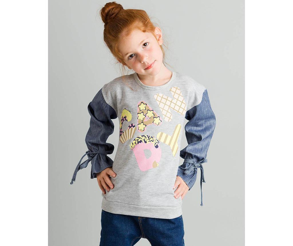 Otroška majica z dolgimi rokavi Love Candy 4 let