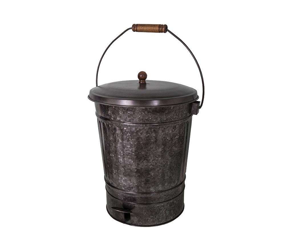 Odpadkový kôš s vekom a pedálom Iafrim