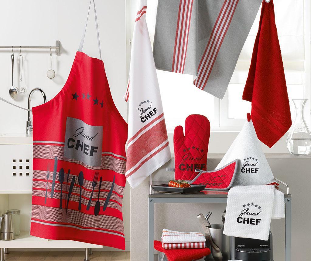 Set kuhinjska rukavica i podmetač za vruće posuđe Chef Etoile