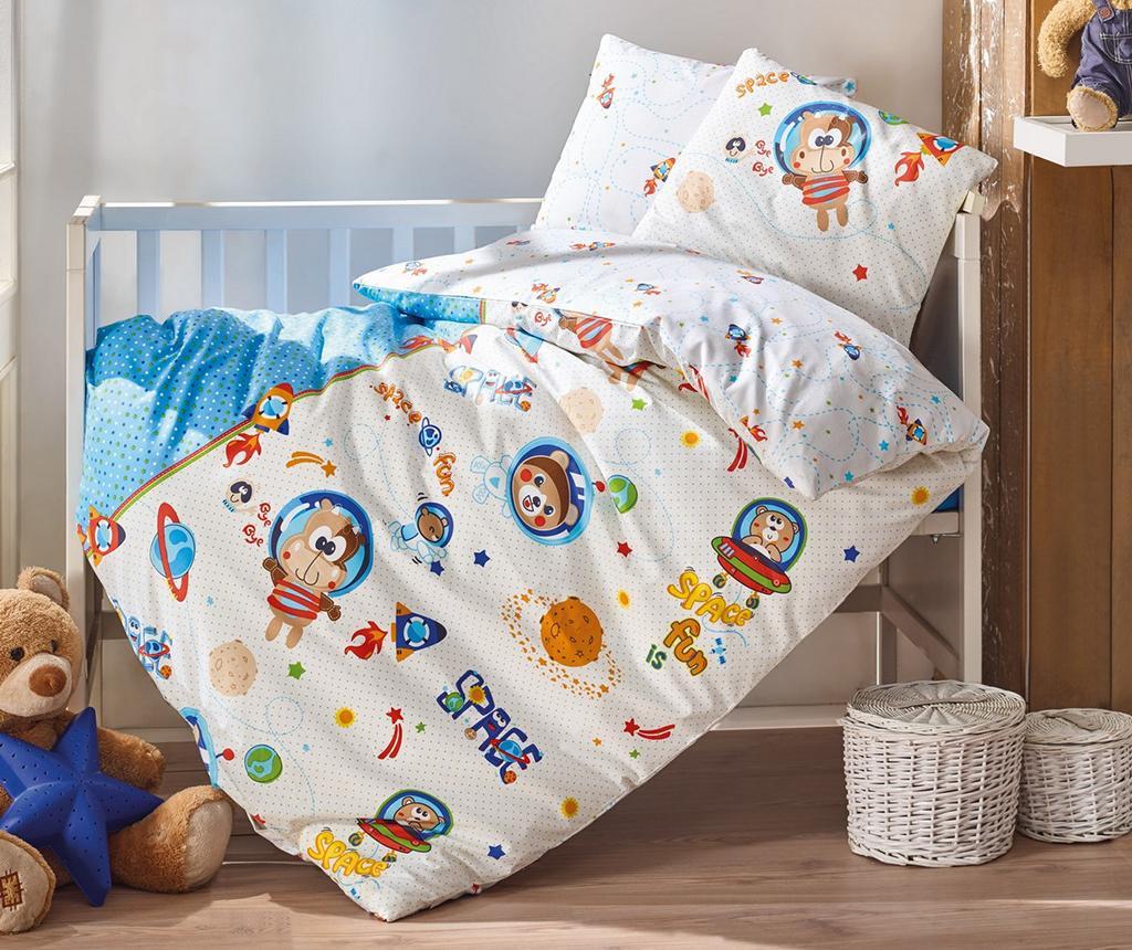 Posteljina za krevetić Ranforce Supreme Uzay Oyunu  Blue