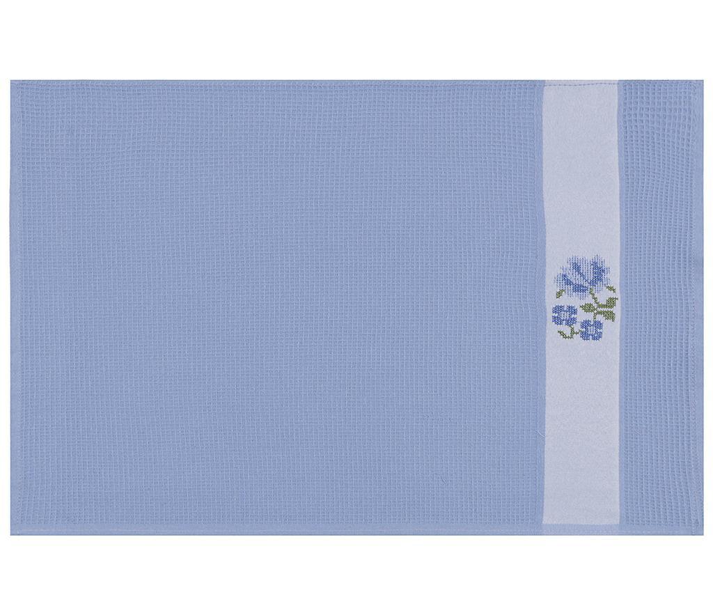 Set 6 prosoape de baie Pecetelik  Blue 45x70 cm