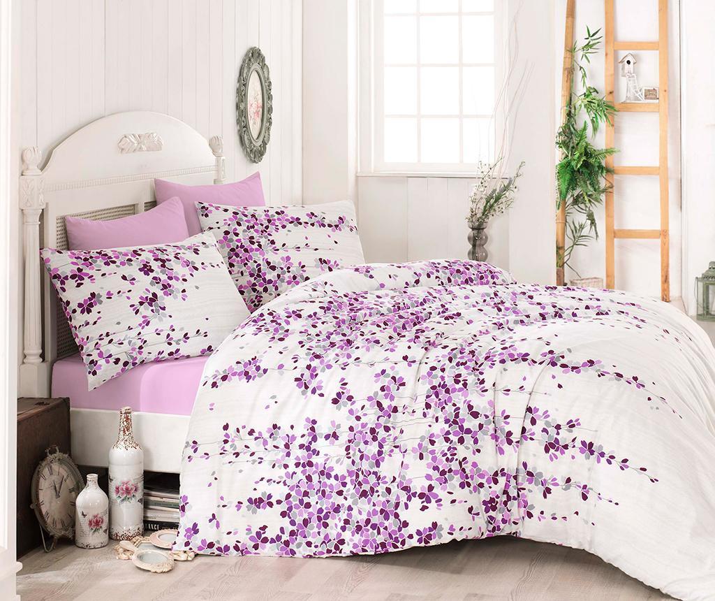 Komplet pościeli King Ranforce Time Pink Lilac
