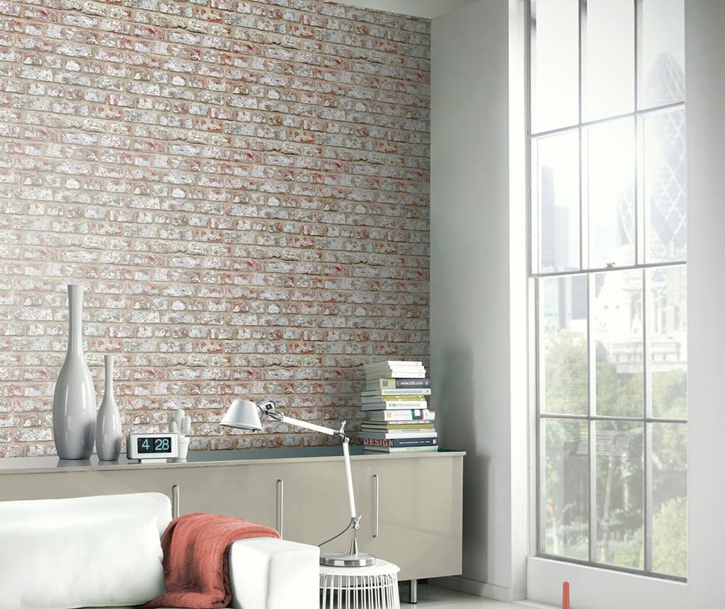 Rustic Brick Tapéta 53x1005 cm