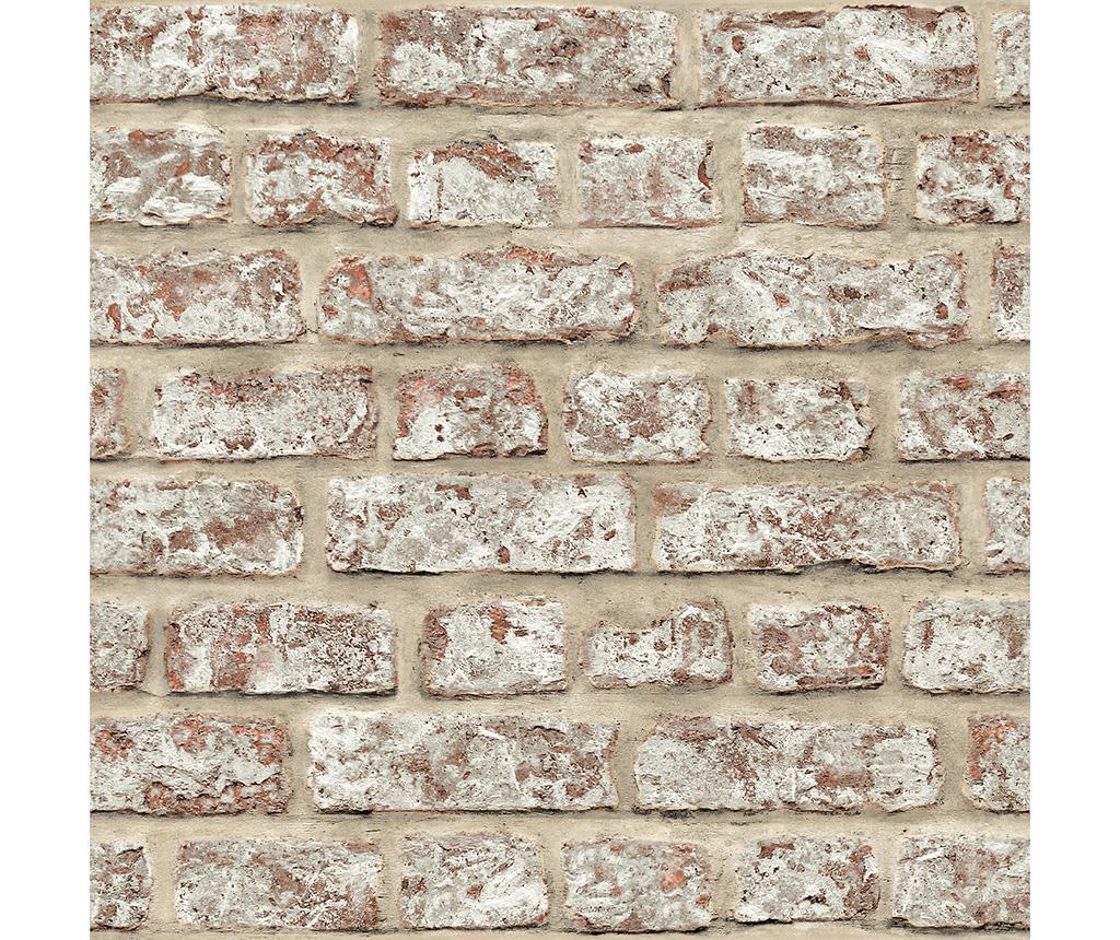 Tapet Rustic Brick 53x1005 cm