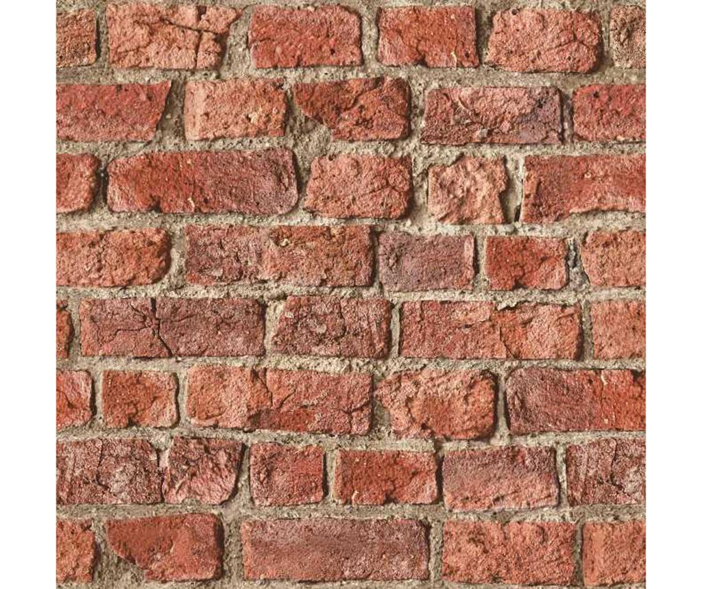 Farm Brick Red Tapéta 53x1005 cm