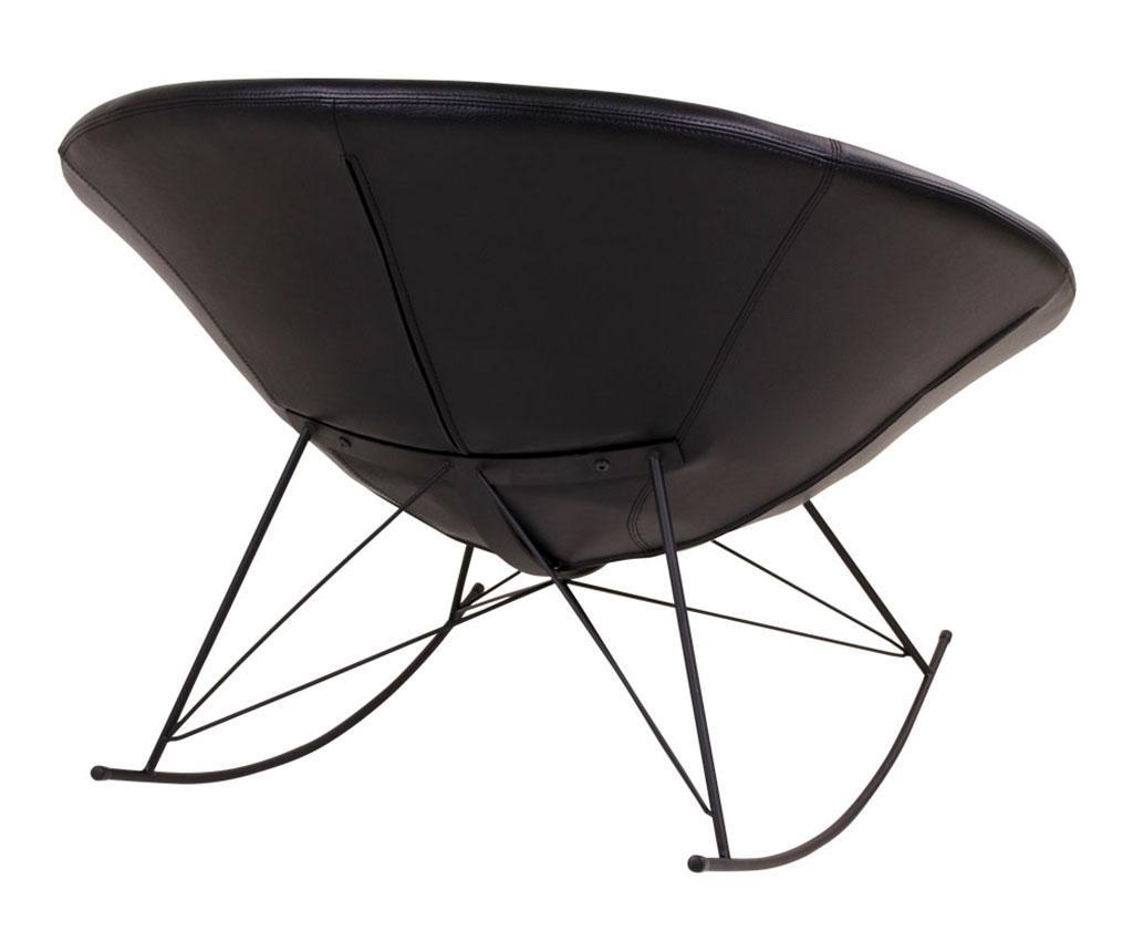 Stolica za ljuljanje Kisa Black