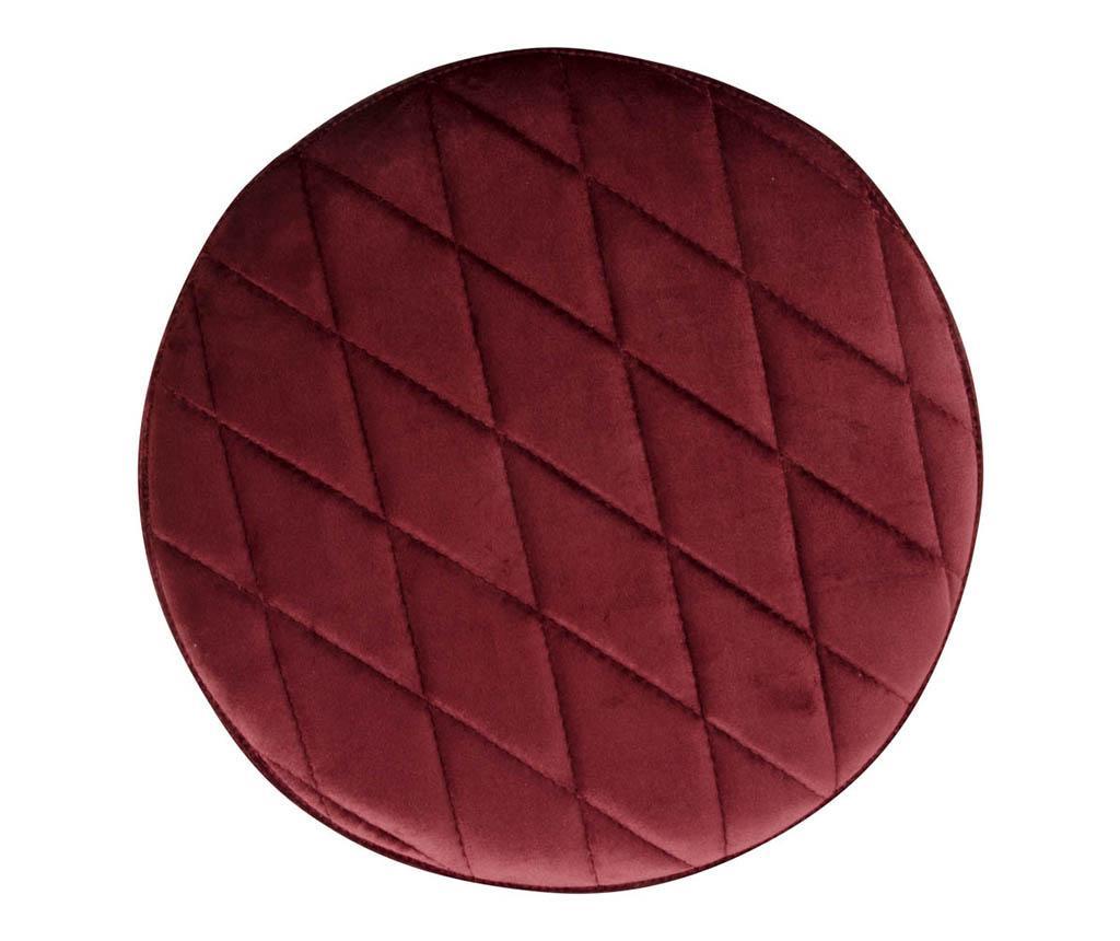 Taburet Ejby Velvet Red