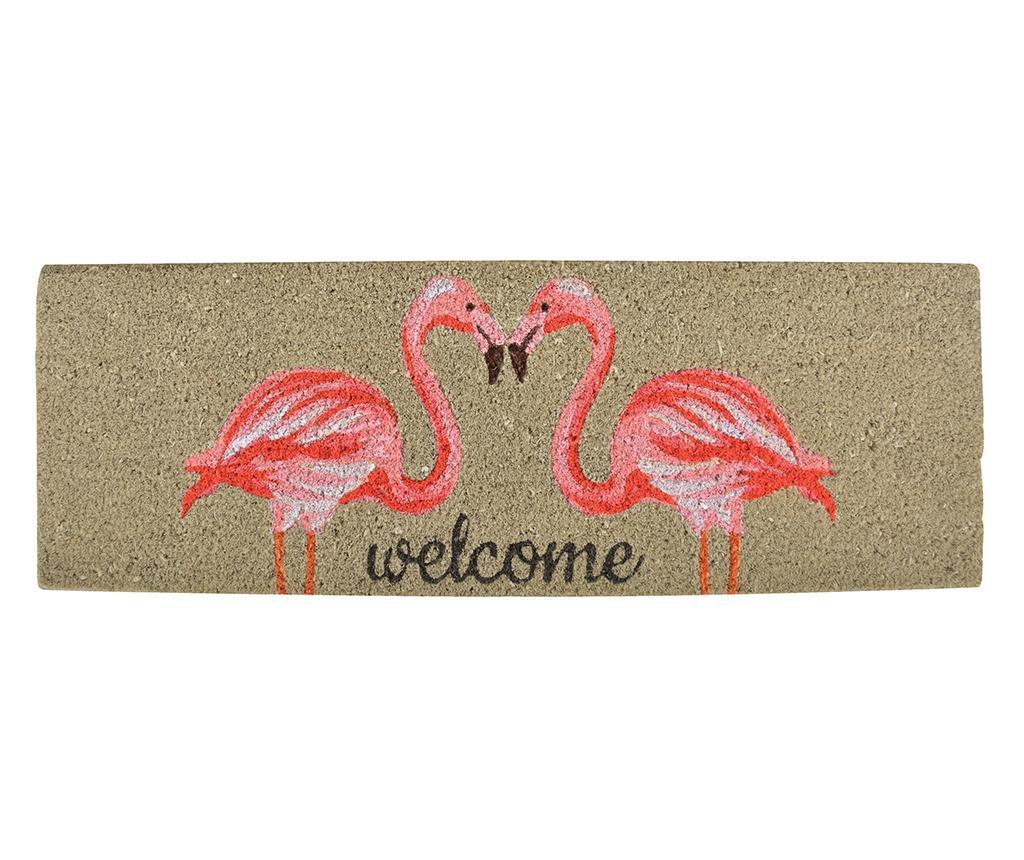 Covoras de intrare Flamingo 25x75 cm