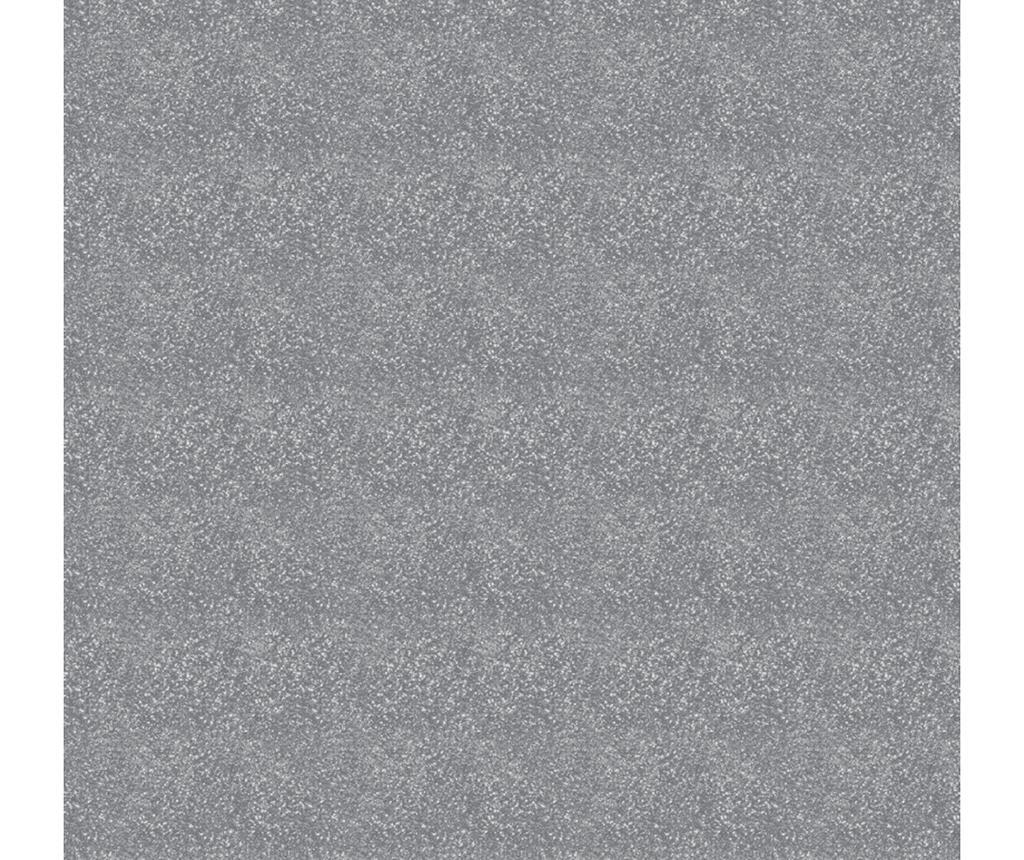 Glitterati Plain Silver Tapéta 53x1005 cm