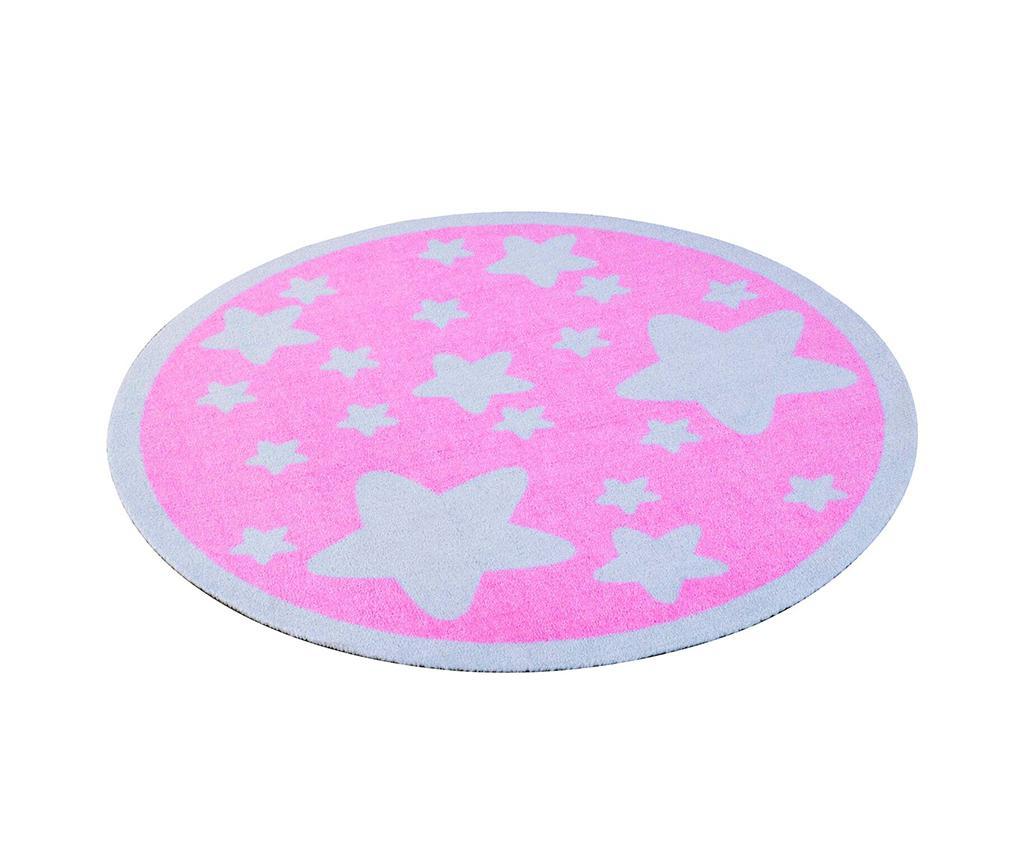 Covor Stars Pink 100 cm