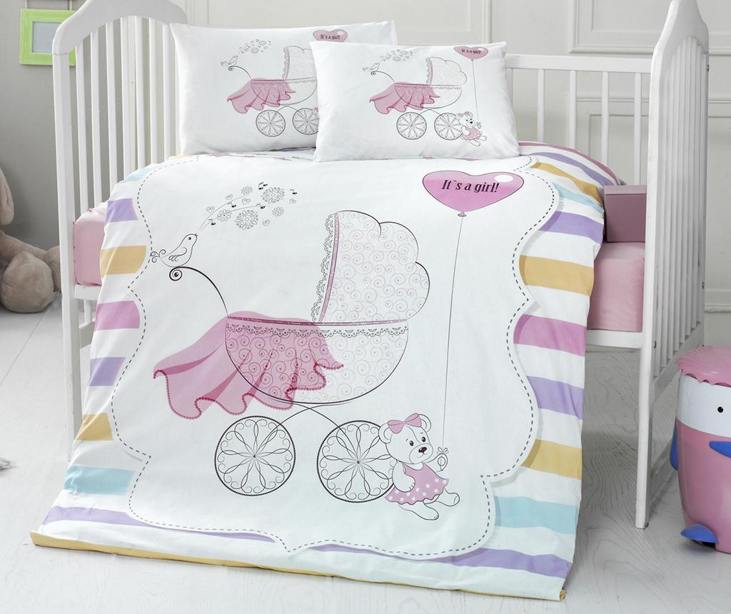 Posteljnina za otroško posteljico Ranforce Supreme Girl 100x150