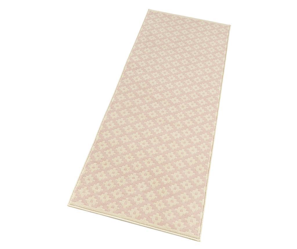 Preproga Lattice Rosa Cream 80x150 cm