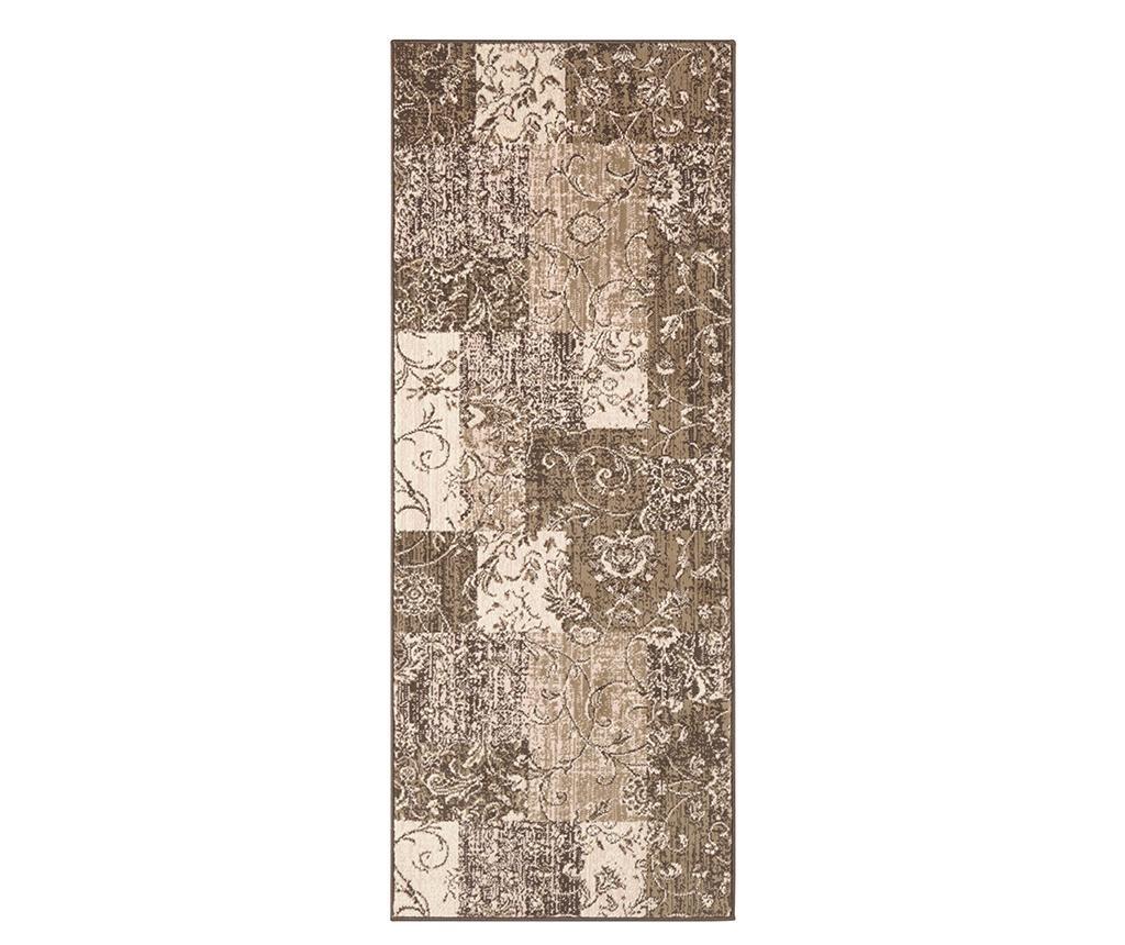 Covor Kirie Brown Rosa 80x150 cm