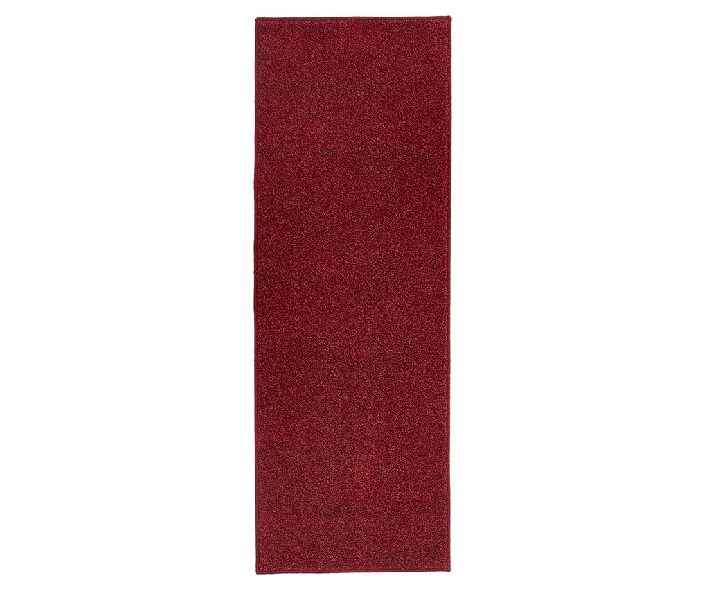 Preproga Pure Runner Red 80x150 cm