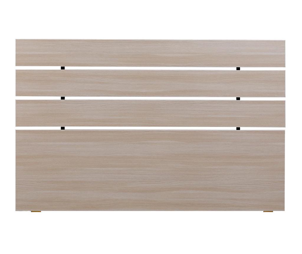 Tablie de pat Fuga Oak Cream 100x140 cm