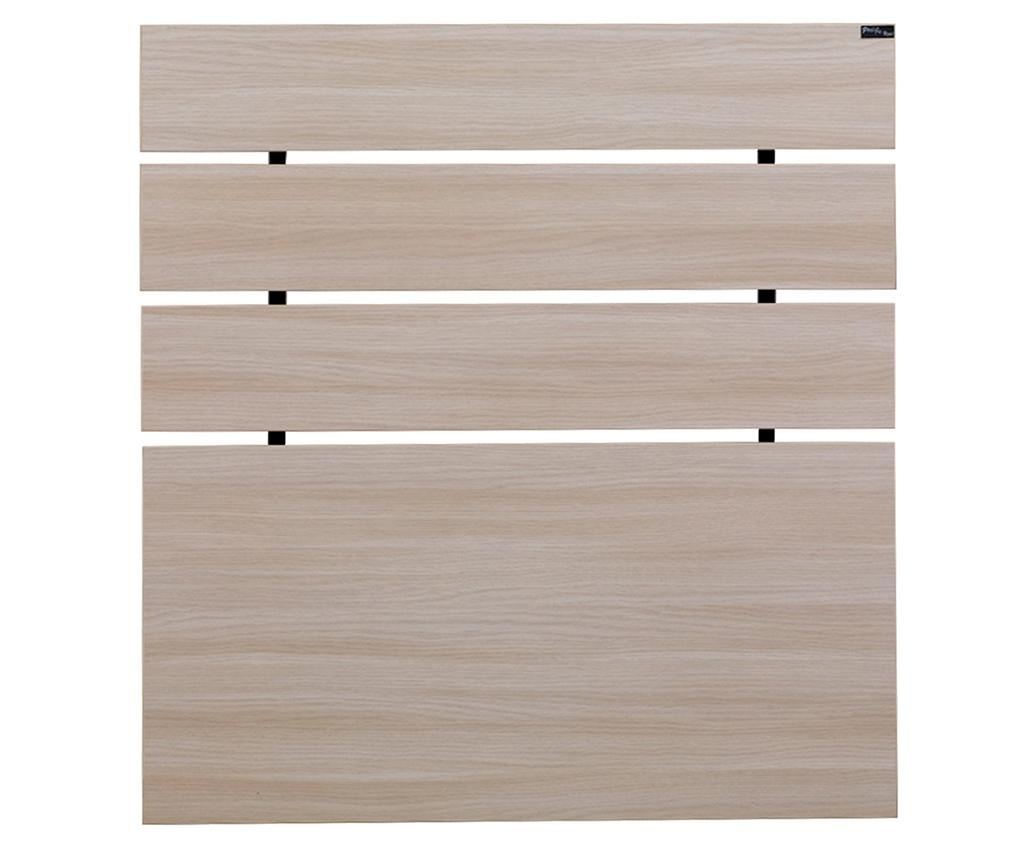 Tablie de pat Fuga Oak Cream 100x100 cm