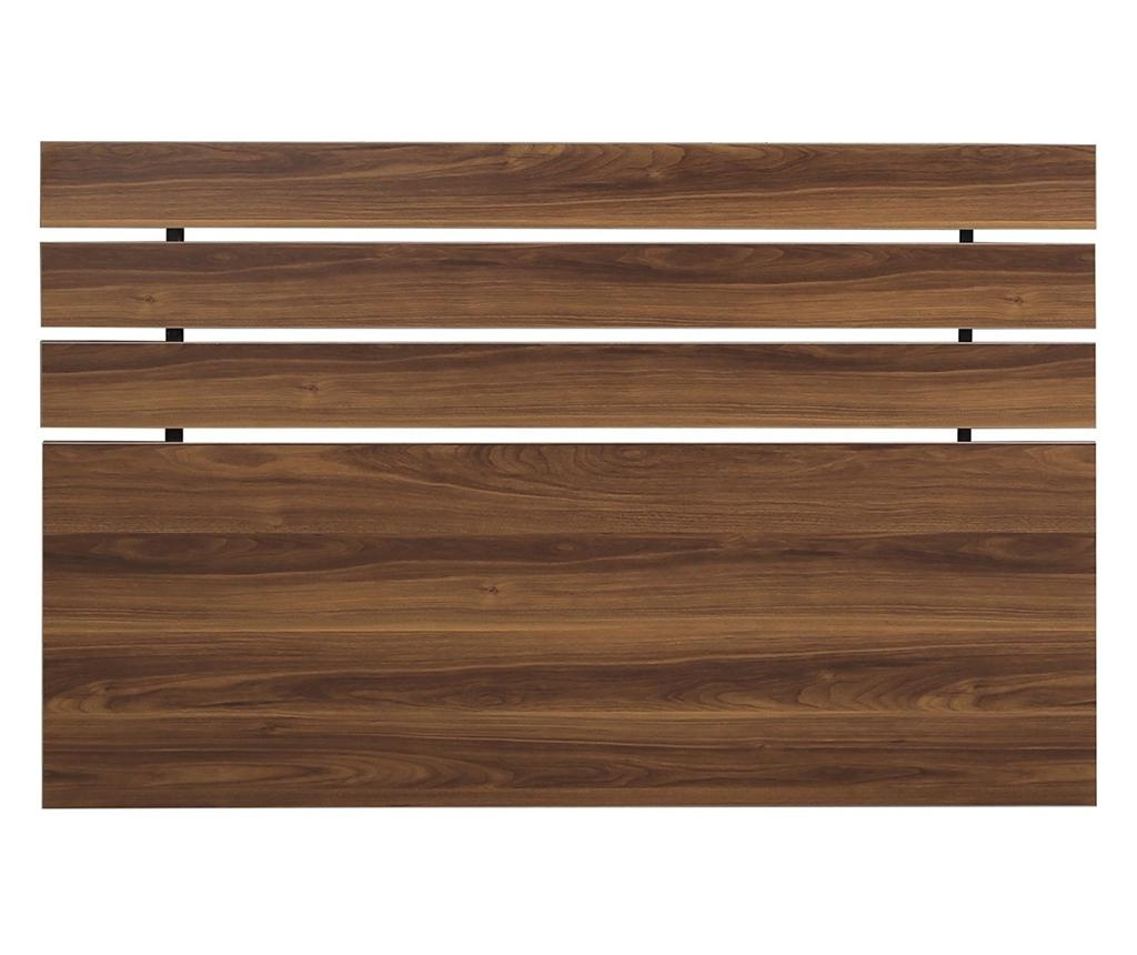 Tablie de pat Fuga Walnut Brown 100x150 cm