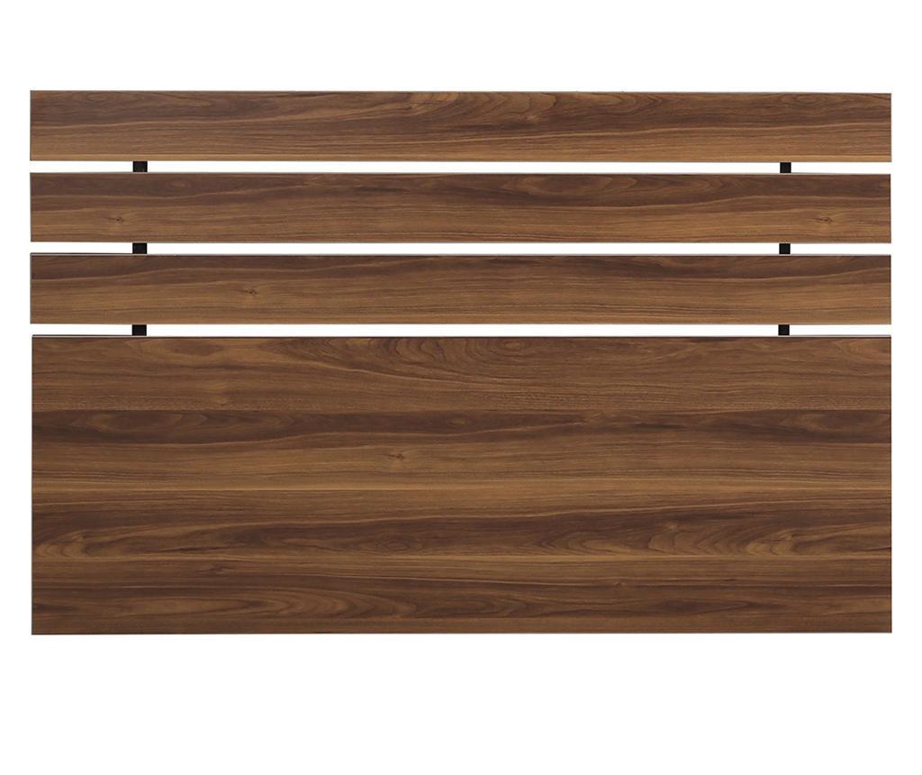 Tablie de pat Fuga Walnut Brown 100x140 cm