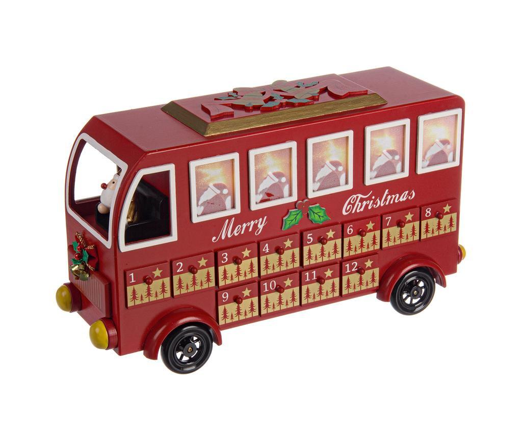 Dekorácia Red Bus