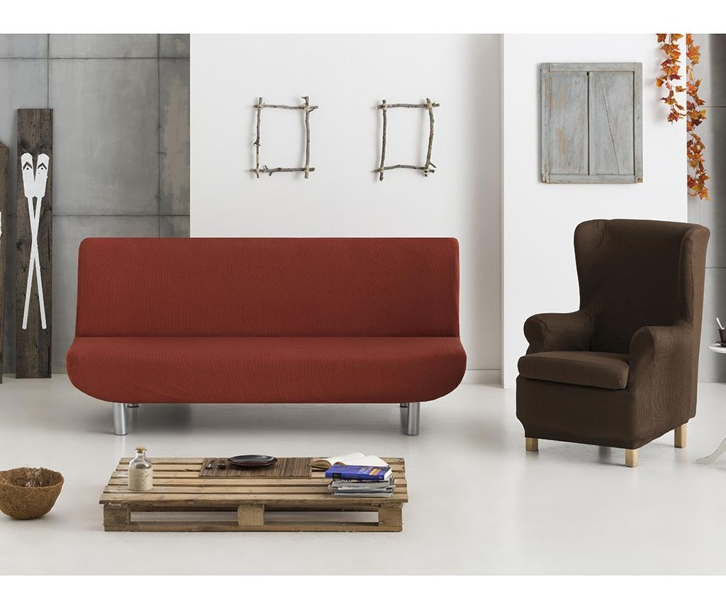 Elastična navlaka za fotelju Ulises Brown 70x60x90 cm
