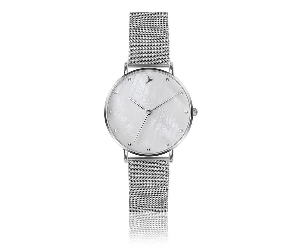 Set ceas de mana dama si bratara Emily Westwood Sophie Glam Silver