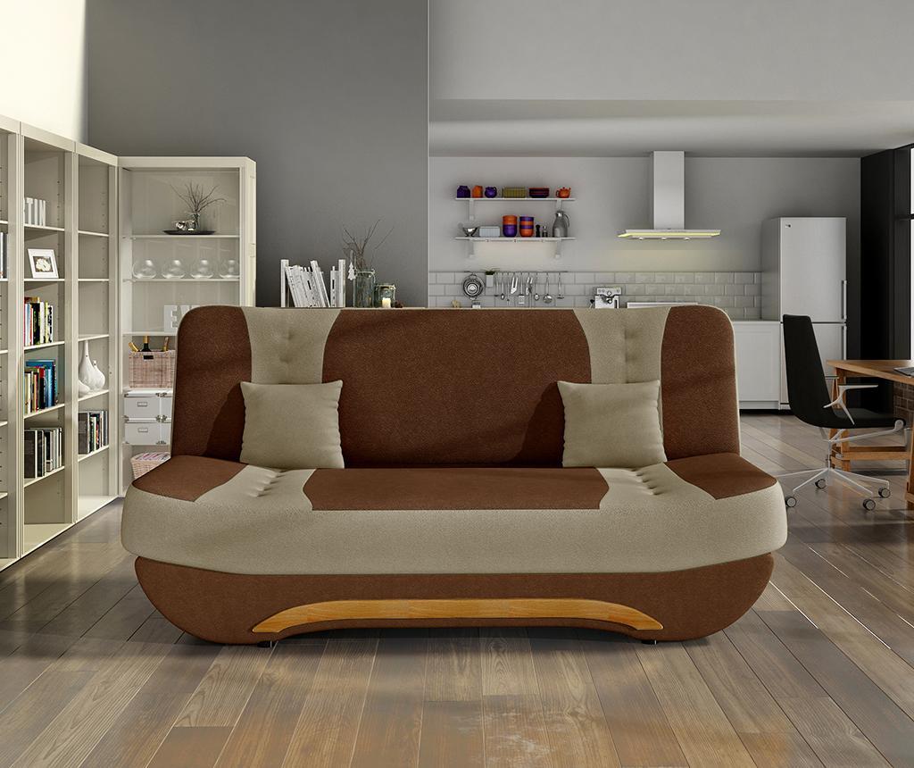 Sofa na razvlačenje Ewa Brown Beige